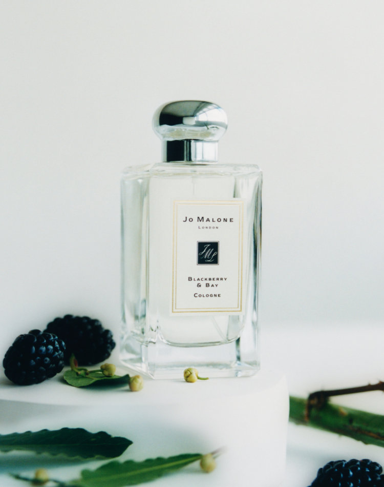 Alternate product image for Blackberry & Bay Cologne shown with the description.