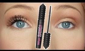 BENEFIT BAD GAL BANG MASCARA | Is It Worth The Money?! (REVIEW & DEMO)