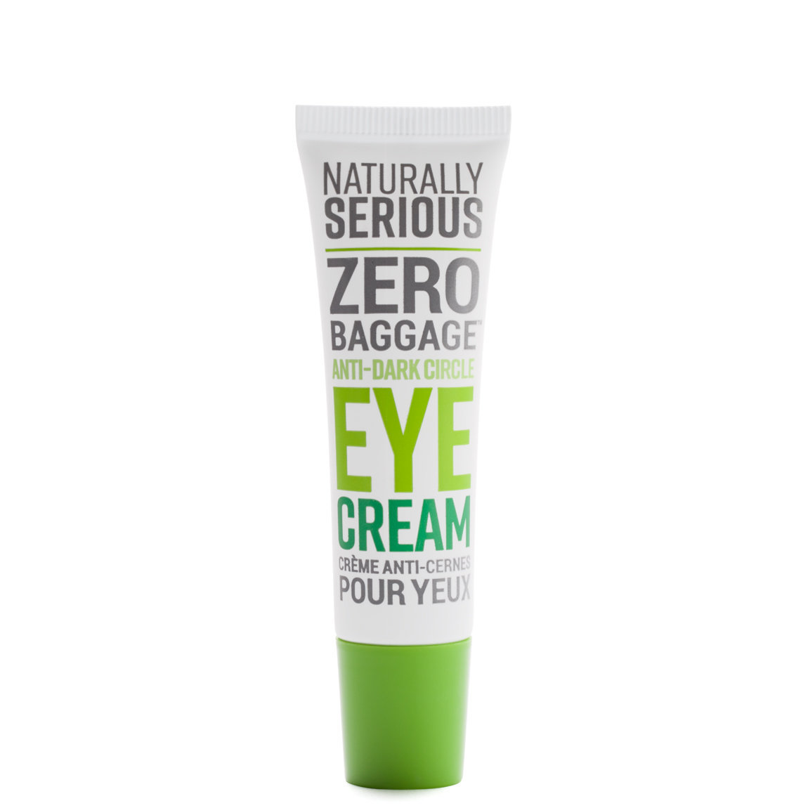 Naturally Serious Zero Baggage Anti-Dark Circle Eye Cream alternative view 1 - product swatch.