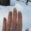 Golden nail caviar
