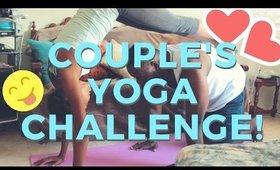 Couple's Yoga Challenge! ♡ Christina Amor