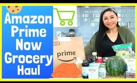 AMAZON PRIME NOW WHOLE FOODS ONLINE GROCERY HAUL!