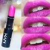 Shocking Pink from Nyx (more photos on the blog)