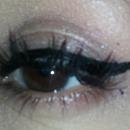 Attempting Winged Eyeliner