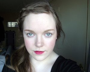 Yep, I'm pale! I wanted to embrace my natural skin colour and just enhance it to try and emulate an 'English Rose'.