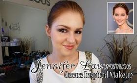 Jennifer Lawrence Oscars Inspired Makeup Tutorial