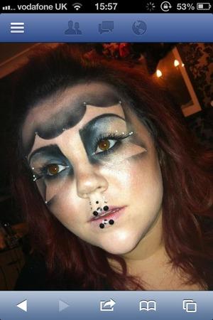 Evil look