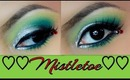 Mistletoe a Holiday Inspired Makeup
