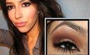 $11 Kim Kardashian Brown Smokey Eye Makeup