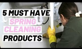 5 SPRING CLEANING MUST HAVE PRODUCTS THAT ARE MULTI-USE CLEANING PRODUCTS