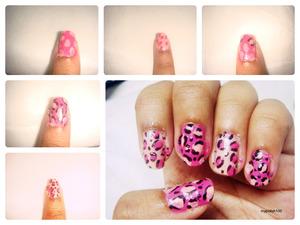 http://mypolish100.blogspot.in/2013/04/girly-leopard-nails.html