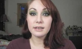 Witches Brew Halloween Inspired Eye Makeup Tutorial - The Eyes Have It