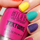 Colorful Textured Skittles with Milani