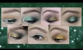 7 LOOKS WITH THE SMOKE SESSIONS PALETTE (MELT COSMETICS)   Color Story CHALLENGE