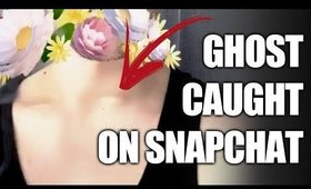 REAL GHOST CAUGHT ON SNAPCHAT! Fantasma Su Snapchat! 😂