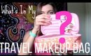 :: What's In My Travel Makeup Bag ::