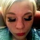 Fanned Eyelashes