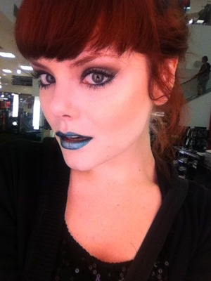 I'm feeling blue today.