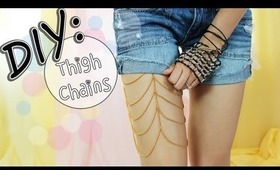 ☀DIY: Cute Thigh Chains for Shorts & Skirts