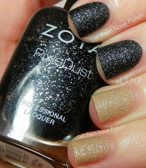 Sparkling texture polishes from Zoya