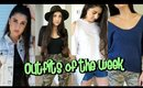 Outfits Of The Week- Thrifting!