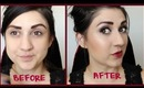 Shimmery Fall Makeup Tutorial