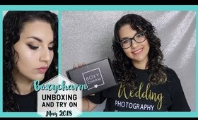Boxycharm May 2018 UNBOXING/ TRY ON