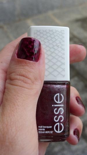 Essie 'sssssssexy' magnetic nail polish.