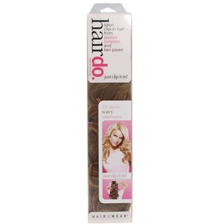 "Jessica Simpson Hairdo 23"" Clip-In Extension - Wavy"