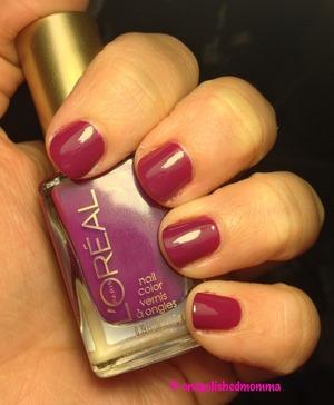 Loreal's violet vixen