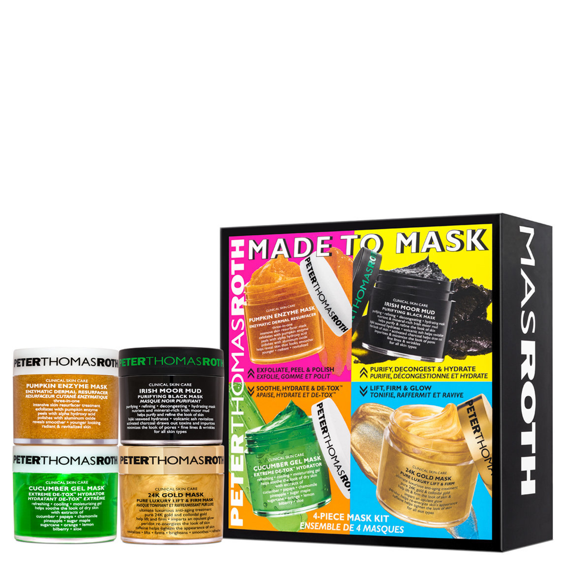 Peter Thomas Roth Made To Mask 4-Piece Mask Kit alternative view 1 - product swatch.