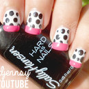 Gwen Stefani Baby Don't Lie Nail Art