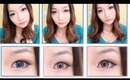 EOS Pink & Blue Circle Lenses Review & Giveaway Pt. 2(kiwiberry1-collection.com)