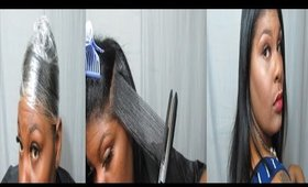 Natural Hair | SILK WRAP | No Heat Damage or Reversion | Jessibaby901