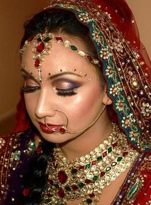 Bridal makeup on Sheekha :) Hair: Minal K