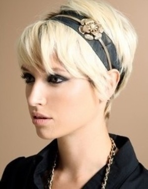 How to style pixie cuts beautylish maybe a cute headband urmus Image collections