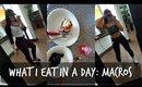 What I Eat in a Day | MACROS