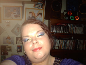 hot dragon make up look inspired by my light up dragons xx