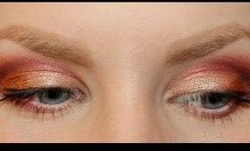 Red & Gold Valentine's Makeup!