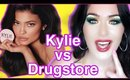 NEW Kylie Cosmetics Setting Powder vs Drugstore I Drugstore VS Highend Makeup #kyliejenner