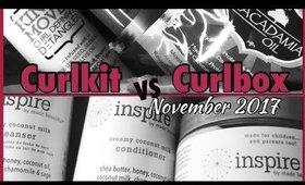 Curlkit vs Curlbox Nov 2017 plus GIVEAWAY! | Shawnte Parks