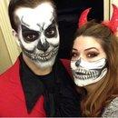 Hubby & I Halloween 2014