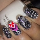 B&W checkers: Inspired by Mara Hoffman