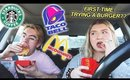 Letting The Person In Front of Me Decide What I Eat - Drive Thru Challenge!