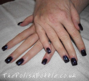 For more Gelish manicure pictures visit http://thepolishbottle.co.uk/blog/