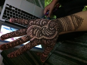 I did this for my sister-in-law while I was in Sri Lanka on holiday...it was her sisters wedding