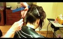 How to do an Asymmetrical Haircut: Razor Haircutting (Part 1 of 3)