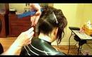 How to do an Asymmetrical Haircut: Razor Haircutting (Part 1 of 3)