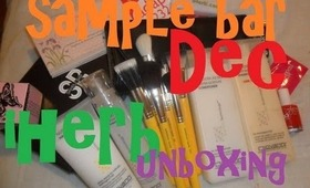 first sample bar and Iherb unboxing: bdellium & giovanni   ooohlalou's beauty channel