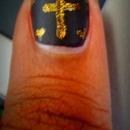 Gold Mini Cross